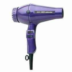 Turbo Power Twin Turbo 3200 Hair Dryer Violet 324A Purple