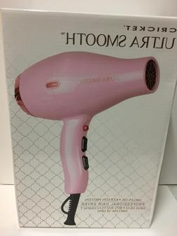 Cricket Ultra Smooth Professional Hair Dryer 1875 watts comp