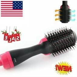 Unisex Anion Infrared Hair Dryer Comb Brush Volumizer Hair B