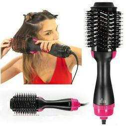USA 2In1 One Step Hair Dryer and Volumizer Brush Straighteni