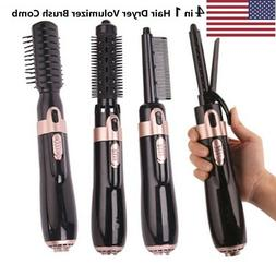 US 4 In 1 Hair Dryer and Volumizer Brush Hot Air Comb Straig