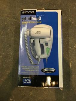 Andis Wall Mount HD-10L 1600W Ionic Hair Dryer 30975 Quiet T