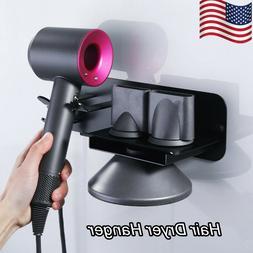 Wall Mount Rack Bracket Hair Dryer Holder Stand for Dyson Ha