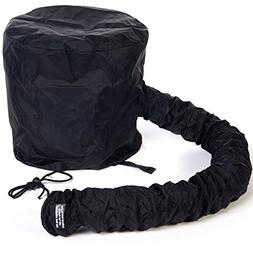 Women'S Portable Soft Hair Drying Cap Hood Hat Blow Dryer At